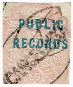 (I.B) QV Revenue : Public Records 1/- (die F)