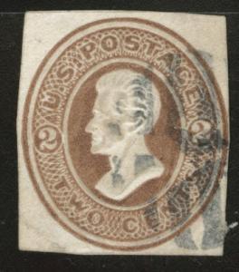 USA Scott U78 cut square CV $16