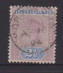Leeward Islands Sc#3 Used - Postmark Cancel Montserrat