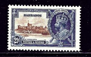 Barbados 188 MNH 1935 KGV Silver Jubilee