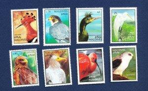 MOLDOVA - Scott 1624-1636 - FVF MNH - BIRDS - 1992-1994