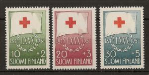 Finland 1957 Red Cross MNH