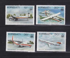 Kiribati 400-403 Set MNH Planes