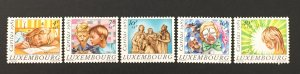Luxembourg 1985 #B352-6, Charity Org., MNH