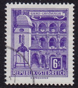 Austria - 1960 - Scott #629 - used - Graz
