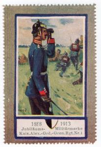 (I.B) Germany Cinderella : Army 25th Anniversary (1st Regiment of Guards)
