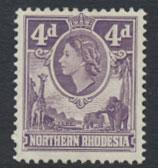 Northern Rhodesia  SG 66  SC# 66 MLH  see detail and scan