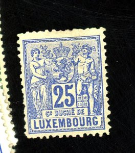 Luxembourg #55 MINT FVF OG LH Cat$175