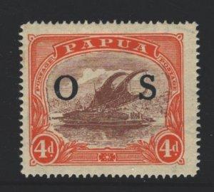 Papua New Guinea Sc#O6 MH