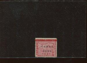 Canal Zone Scott 11a Mint Stamp w/Antique 'ZONE'' Variety  (Stock CZ11-A1)