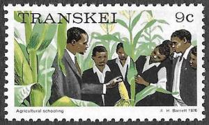 Transkei SC 13 - Agricultural School - MNH - Perf 12 - 1976