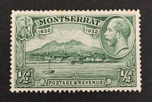 Montserrat 1932 #75, Harbor, MH/Unused.