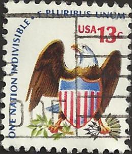 # 1596 USED EAGLE AND SHIELD