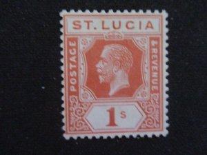 St. Lucia #87 Mint Hinged WDWPhilatelic (H6L7)