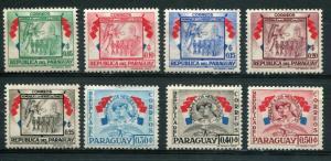 Paraguay SC#508-15 Soldier & Nurse 45c MH