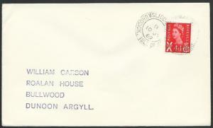GB SCOTLAND 1969 cover SLIDDERY / BRODICK. ISLE OF ARRAN cds...............55766