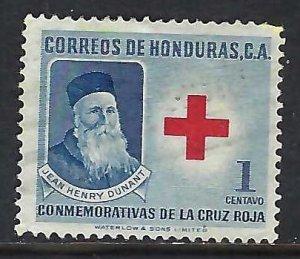 Honduras RA5 VFU RED CROSS I927-2