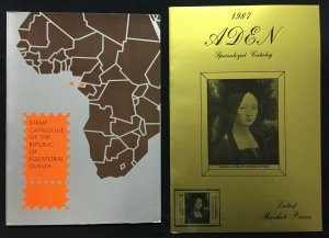 Guinea Equatorial 1968/75 Aden 1937/68 Catalogues (2)(W3423