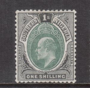 Southern Nigeria #16 Mint Fine - Very Fine Original Gum Hinged