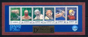 [42935] Alderney 1998 Sports Diving Unesco MNH Sheet