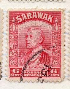 Sarawak 1934 early Brooke Issue Fine Used 6c. 196178