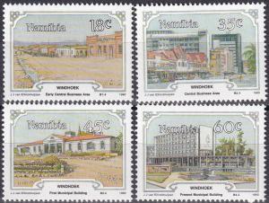 Namibia #666-9 MNH CV $2.50 Z10
