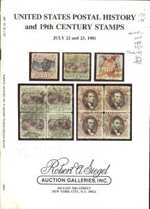 United States Postal History and 19th Century Stamps incl...