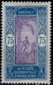 Dahomey 1913: Sc. # 70; **/MNH Single Stamp