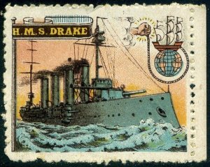 Cinderellas: England Great War Ships - HMS Drake (Delandre)