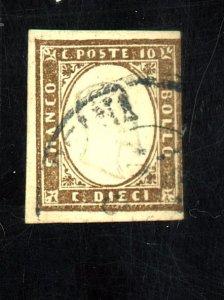 Sardinia #11h Used FVF Cat$235