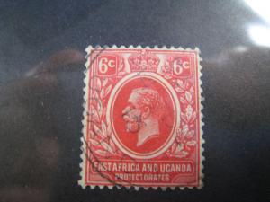 KUT (East Africa and Ughanda Protectorates)  - SCOTT # 3 -  Used