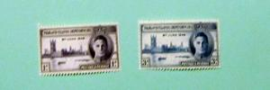 Falkland Islands - 97-98, MNH Set. Peace. SCV - $0.90