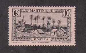 Martinique Scott #138 MH Note