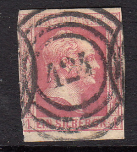 German States, Prussia #6 used, see description