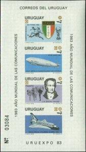 Uruguay Scott #1147a Mint Never Hinged