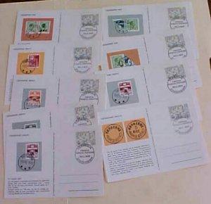 FAROE  FD CARDS 1945 CACHET UNADDRESSED