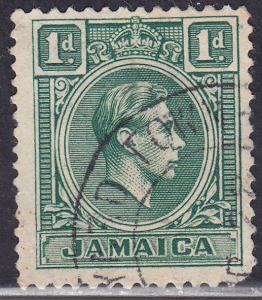Jamaica 149 USED 1951 King George VI 1d