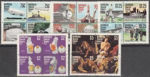 Barbuda #318-22  MNH F-VF CV $12.25 (SU3665)