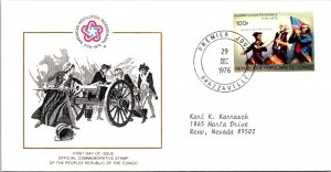 Congo, Worldwide First Day Cover, Americana