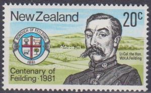 New Zealand #724 MNH VF (B5672)