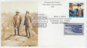 2000 John Muir - CtC 1900s (3182j) Mystic Pictorial