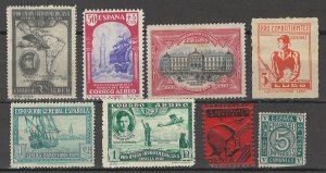 COLLECTION LOT # 3783 SPAIN 8 STAMPS 1916+ CV+$10