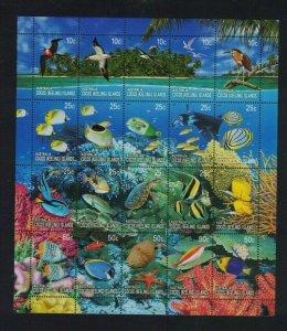 CK122) Cocos Keeling Islands 2006 Coral Reefs Sheetlet MUH