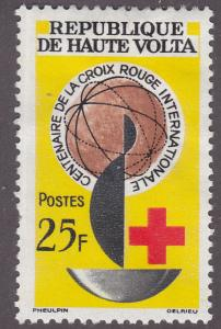 Burkina Faso 127 Intl. Red Cross, Centenary 1963