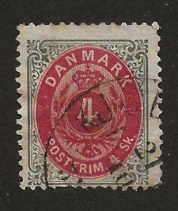 DENMARK SC# 18   F/U