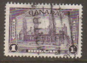 Canada #245 Used
