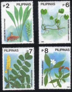 Philippines #2132-35 flowers MNH