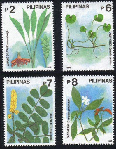 Philippines #2132-35 flowers MNH