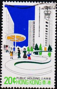 Hong Kong. 1981 20c S.G.402 Fine Used