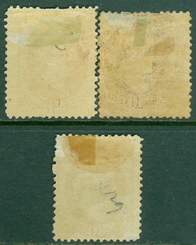 EDW1949SELL : USA 1882 Scott #209. 3 shades. Mint Original Gum. Catalog $495.00.
